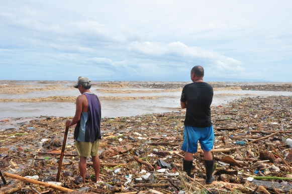 ''A sea of uncertainty.'' A photo of the devastation after Typhoon Sendong. Photo credit: Clee A Villasor.